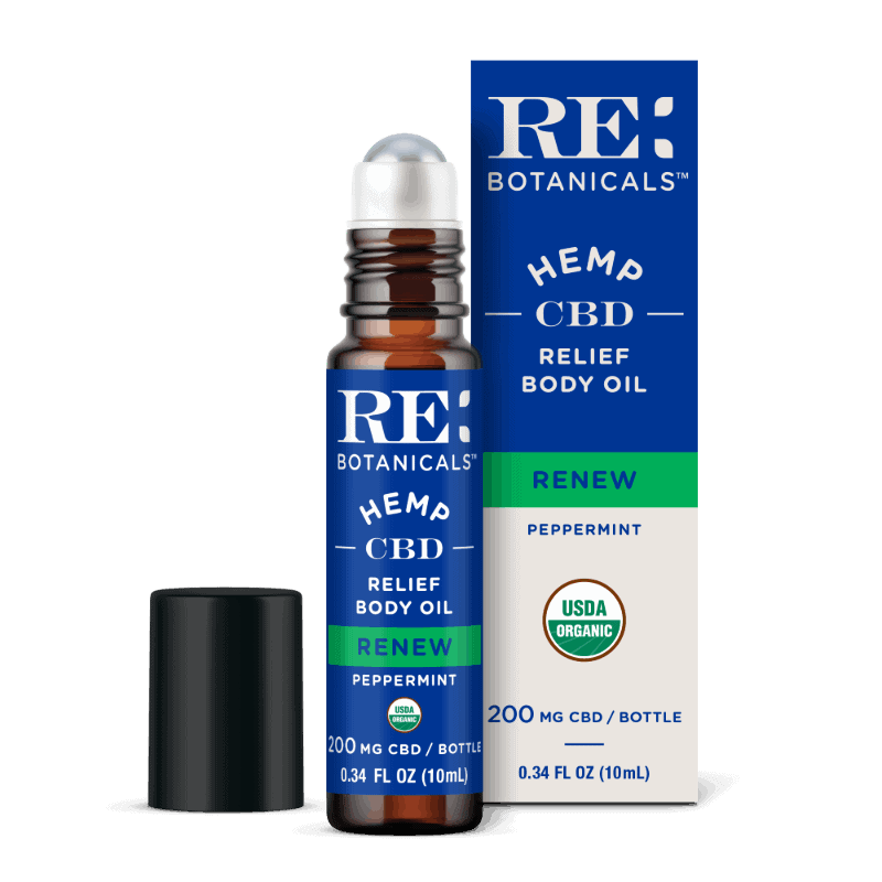 RELIEF BODY OIL – PEPPERMINT